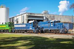 edit-8039 (Travel By Train) Tags: railroad st train georgia marys emd sw1500 sw1200 gp16