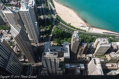 Chicago from the Hancock (Thomas Gremaud) Tags: chicago illinois skyscaper rooftops hancockbuilding high lakemichigan