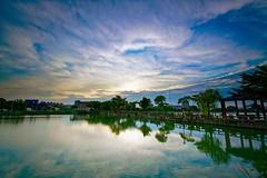 2016-06-08 18.06.43 (pang yu liu) Tags: park sunset reflection pond dusk 06  pate jun   2016