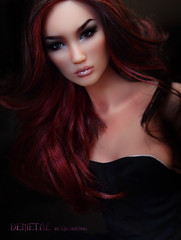 Demetae by Kingdom Doll (kingdomdoll) Tags: red beauty doll chinese kingdom resin fashiondoll resinfashiondoll kingdomdoll demetae