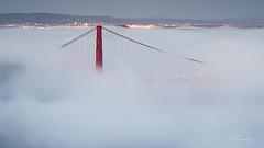 Bridges (davidyuweb) Tags: sanfrancisco bridge fog bay low bridges baybridge sfist lowfog goldengatebridges luckysnapshot