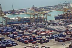 20120530_Docks (jae.boggess) Tags: spain espana europe travel trip eurotrip spring springtime barcelona shippingcontainers freight docks