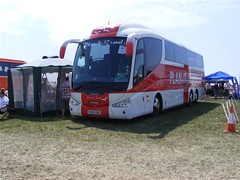 Plan it Travel (PD3.) Tags: travel bus buses downs coach open top plan it racing surrey topless races derby epsom topper eng grandstand scania psv pcv investec epsomdowns 2011 irizar fa05 fa05eng
