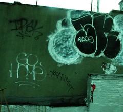 SKID over ADEK (S C R A T C H I E S) Tags: nyc home graffiti rip go sace sacer adek skid irak dms btm