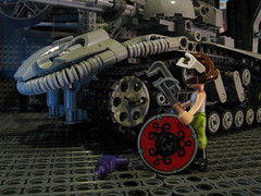 IMG_1494 (mahjqa) Tags: friends girl tank power lego technic functions tankgirl moc technischlego studless legofriends