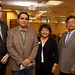Pictured from left to right at the Navajo Nation Washington Office: Navajo County government affairs director Hunter Moore, Navajo Council Delegate Jonathan Nez (Shonto, Navajo Mountain,. Oljato, Ts'ah Bii Kin), Coconino County Supervisor Lena Fowler (District 5), and Navajo County Supervisor (District II) Jesse Thompson. The National Association of County Officials (NACo) is holding their annual legislative summit in Washington, D.C. Photo by Jared King / NNWO.  This Navajo Nation Washington Office photograph is being made available only for publication by news organizations and/or for personal use printing by the subject(s) of the photograph. The photograph may not be manipulated in any way and may not be used in commercial or political materials, advertisements, emails, products, promotions that in any way suggests approval or endorsement of Navajo Nation President Ben Shelly or Vice President Rex Lee Jim.