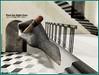 Find the right door (Tim Deschanel) Tags: life door art café stairs landscape tim hand main sl second crayon escher paysage exploration escalier deschanel creators epoch paradoxe npirl beetlebones