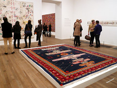 Alighiero Boetti: Game Plan @ Tate Modern (everydaylife.style) Tags: uk italy london art italian unitedkingdom contemporaryart maps exhibition tatemodern rivers mappa turin retrospective kabul aeroplanes magazinecovers conceptualart  embroideries  aerei nationalflag    postagestamps tutto boetti artepovera  gameplan   ballpointpens    conceptualartist alighieroboetti industrialmaterials