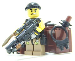 Apoc M110 Masterkey (Silenced_pp7) Tags: paint lego zombie apocalypse customized custom zombies minifigure apoc m110 masterkey brickarms brickforge brickwarriors