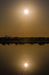 Serenity (_Rjc9666_) Tags: d5100 nikon riaformosa faro algarve sunset sun golden reflection 309 ©ruijorge9666 nikon55200 39