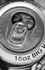 Do Not Drink! (Robby Ryke) Tags: eyes pop stare beast soda scared fell in donotdrink monstercan