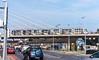 Tram Crossing Bridge In Dundrum