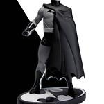 經典黃金時期蝙蝠俠黑白雕像
