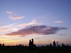 (Ladylynx13) Tags: sunset sky clouds stonehenge kodakeasyshare summersolstice