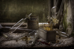 Dentistry tools :: (andre govia.) Tags: old building abandoned buildings photo closed photos decay exploring teeth andre explore dentist ue urbex govia
