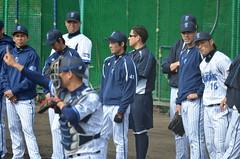 DSC_1034 (mechiko) Tags: 120205 横浜ベイスターズ 大原慎司 横浜denaベイスターズ 2012春季キャンプ
