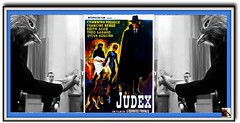 Channing POLLOCK, Francine BERGE,Edith SCOB, Sylva KOSCINA  in  JUDEX [1963, France] Director: Georges FRANJU (mhdantholz) Tags: