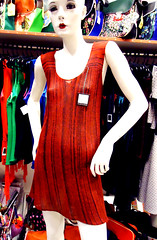 * serie alo * vestido corto (plyades-ropa tejida) Tags: color thread dress skirt cotton seda ropa vestido falda algodon tejida pleyades