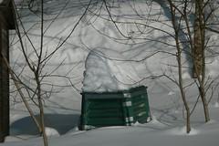 compostiera (nociveglia) Tags: winter snow bin neve compost inverno compostbin compostiera