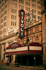Tivoli Theatre (TooMuchFire) Tags: 1920s signs chattanooga neon theatre tennessee theaters theatres neonsigns oldsigns movietheaters tivolitheatre vintagesigns vintageneonsigns theatremarquees theatermarquees moviemarquees lightroom3 toomuchfire 709broadstchattanoogatn