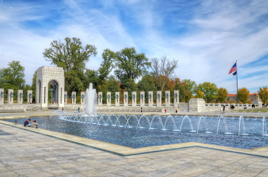 National World War II Memorial in Washington DC