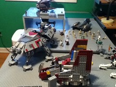 New MOC Unknown Planet (22 Productions) Tags: fire star starwars lego lightsaber wars squad epic base v1 barc droid moc lsw legoreview23 legoreview24 legoreview22