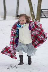 Why don't I like the snow like this anymore?! (phil.fletch) Tags: park snow girl scarf canon child boots indiana running blanket mishawaka 60d