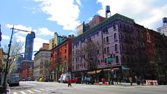v So. W cor 73 St & Columbus Ave. (SardineTea) Tags: nyc newyorkcity newyork architecture buildings upperwestside gentrification oldnewyork uws sardinetea