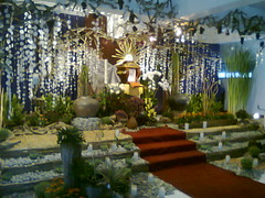 Before the mass of Last Supper... (Virgen Sang Barangay) Tags: altar cavite repose patente lent kawit