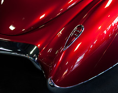 red fender (** RCB **) Tags: light red metal rouge metallic tail fender chrome taillight