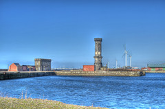 HDR Tower and Building (Stephen Whittaker) Tags: tower liverpooldocks nikon victoria warehouse tobacco d5100 arethesebuildings whitto27