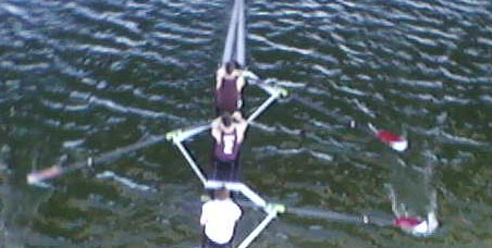 Last, but not least of the pictures, this is of some rowers rowboating