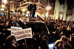 Primavera Valenciana (nemenfoto) Tags: primavera valencia protest mani protesta manifestacion valenciana educacion secundaria manifestacio 22f paisvalencia luisvives educacio nemenfoto ieslluisvives primaveravalenciana
