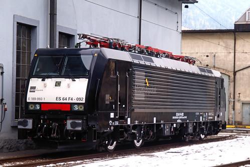 CH MRCE E189 992-1 Erstfeld 11-02-2012