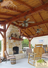Outdoor Living - Texas Timber Frames (Texas Timber Frames) Tags: wood house home frames texas post timber beam frame handcrafted components timbers trusses timberframe mortise tenon timberframehouse woodhome timberframes mortiseandtenon timberframeideas timberframeconstruction timberhome timberframehome timberframekitchen timberframegreatrooms texastimber texastimberframes