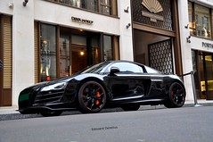 Audi R8 V10 hyper black editon by Anderson Germany (ZellusCars) Tags: black by germany anderson hyper audi v10 r8 editon