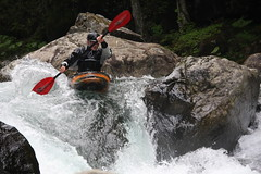 Tight and tech Kayaking extreme Japan