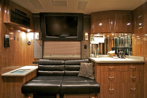 Triumph - Front Lounge & Galley