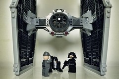 LEGO 9492 TIE Fighter (philippe simpson) Tags: trooper death star fighter lego tie imperial wars officer pilot droid astromech minifigure 9492 r5j2
