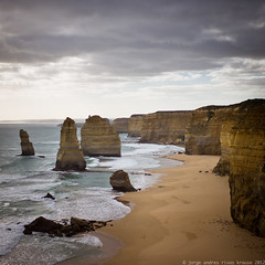 12 Apostles (::jark::) Tags: ocean leica beach sand rocks colours australia victoria browns coastline yellows greatoceanroad 12apostles m9 afternoonlight clif summilux50mm