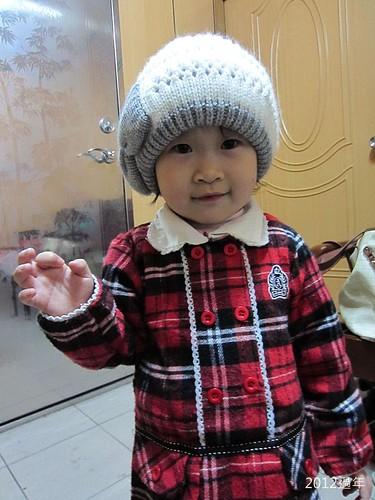 2012過年-IMG_3804-冬冬戴帽子