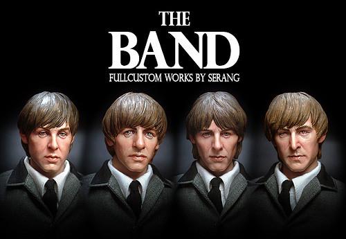 """英國入侵!披頭四 12吋商品化""""The Band""""!"""