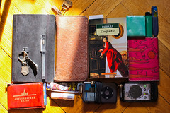 What's in my bag, March'12 (inles) Tags: bag contents wimb