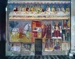 Affresco nella Basilica di Santa Maria Maggiore di Bergamo