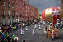 Patrick's Day Parade In Dublin (2012) (infomatique) Tags: ireland dublin festival europe patrick parade stpatricksday 2012 stpatricksfestival streetsofdublin infomatique photographedbywilliammurphy stpatricksfestival2012 infomatiquepatricksday2012