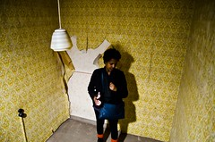 Bunker unter dem Marktplatz (khawkins04) Tags: old wallpaper history germany peeling tour stuttgart bunker bombshelter loul langenachtdermuseem bunkerunterdemmarktplatz