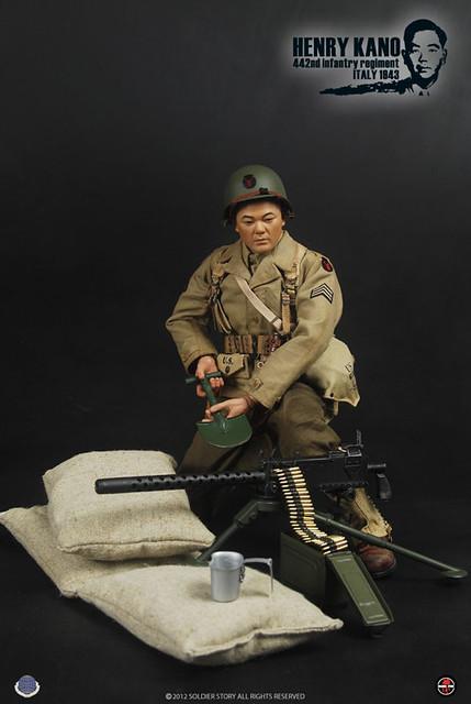 注入靈魂的大兵系列!442步兵團來了!