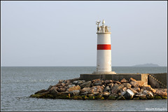 Light house at Istanbul (maxplx) Tags: red lighthouse water colors canon istanbul 5d 200mm