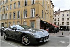 Ferrari 599 gtb (G-E Supercars) Tags: black france cars sport ferrari 63 full cayenne porsche nancy bmw gt audi ml lorraine 54 m6 b7 luxe v10 magnum s4 amg gtb supercars s5 599 sportback