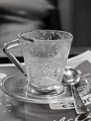 (paola_ragusa) Tags: bw white black cup coffee breakfast bar pen 1 olympus bn bianco caffè tazzina nero colazione bistrot epl 1442mm mzuiko